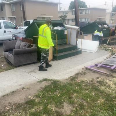 Trash near 1773 East 52nd Street, Los Angeles