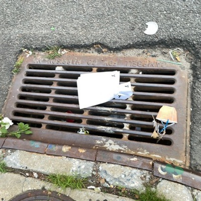 Trash near 21-07 31st Road, New York