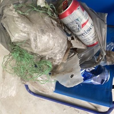 Trash near 1, Beagles Rest, Ormond Beach, Volusia County, Florida, 32174, United States