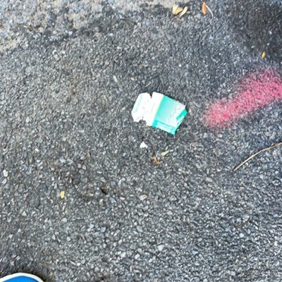 Trash near 14-14 28th Avenue, New York
