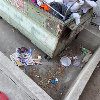 Trash near 7597 Quailwood Drive, Bakersfield