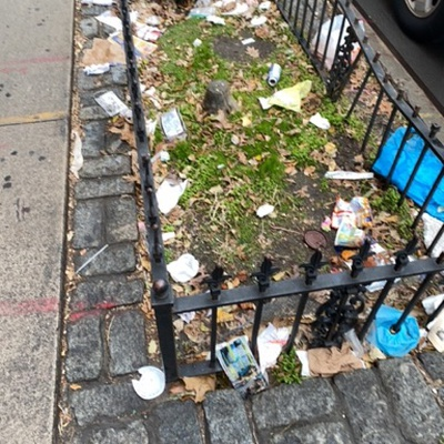 Trash near 2179 3rd Avenue, New York