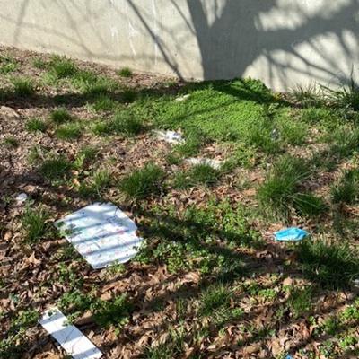 Trash near Junior High School 126, Bayard Street, Williamsburg, Brooklyn, Kings County, New York, 11222, United States