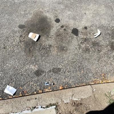Trash near 28-015 14th Street, New York
