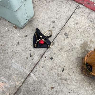Trash near 200 East Ocean Boulevard, Long Beach