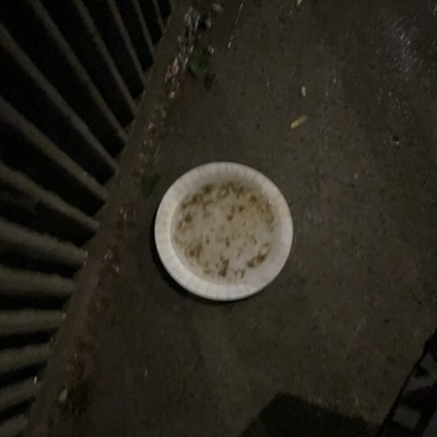 Trash near Vernon Boulevard & 31st Avenue, Vernon Boulevard, Astoria, Queens, Queens County, New York, 11106, United States
