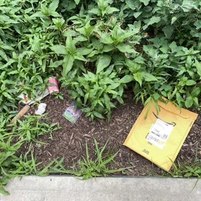 Trash near 14-26 28th Avenue, New York
