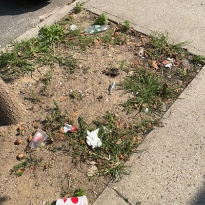 Trash near 11-05 30th Road, New York