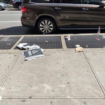 Trash near 140 East 117th Street, New York
