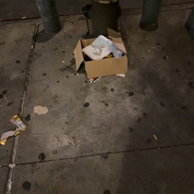 Trash near 2184 3rd Avenue, New York