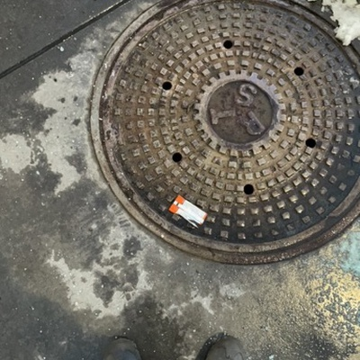 Trash near 123 Flatbush Avenue, New York