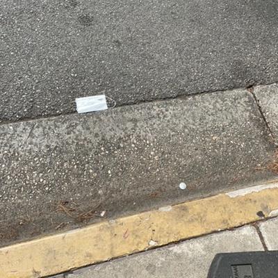 Trash near 1, Rocket Road, SpaceX Headquarters, Hawthorne, Los Angeles County, California, 90250, United States