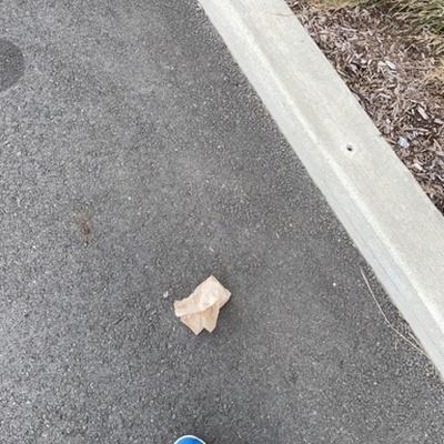 Trash near Brooklyn Navy Yard, Brooklyn, Kings County, New York, 11251, United States