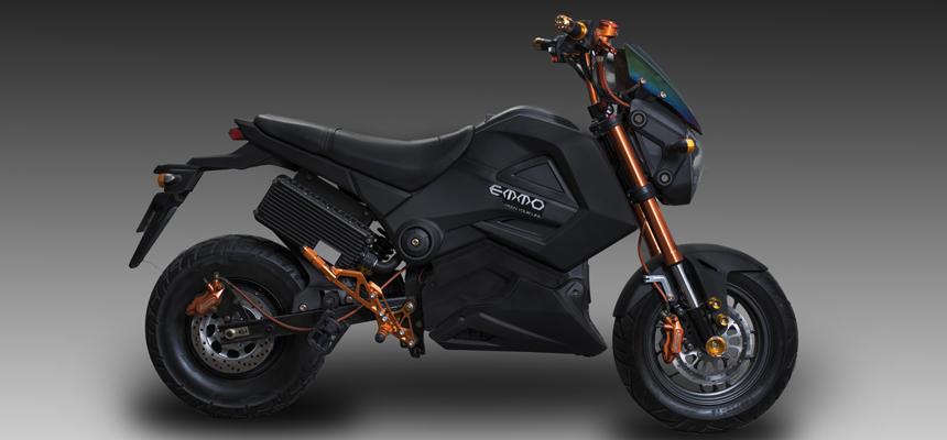 Motorcycle Style Ebike - Knight GTS