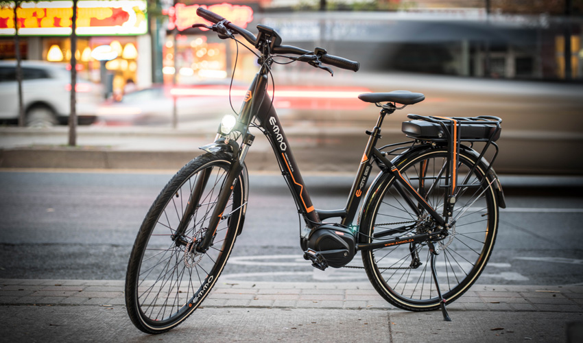 Emmo Electric Bicycle City800 Mid-Drive