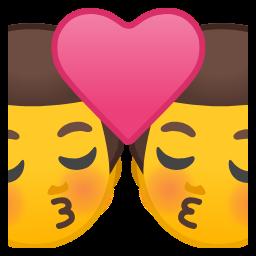 Kiss Man Man Emojibuff