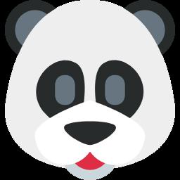 Panda Face Emojibuff