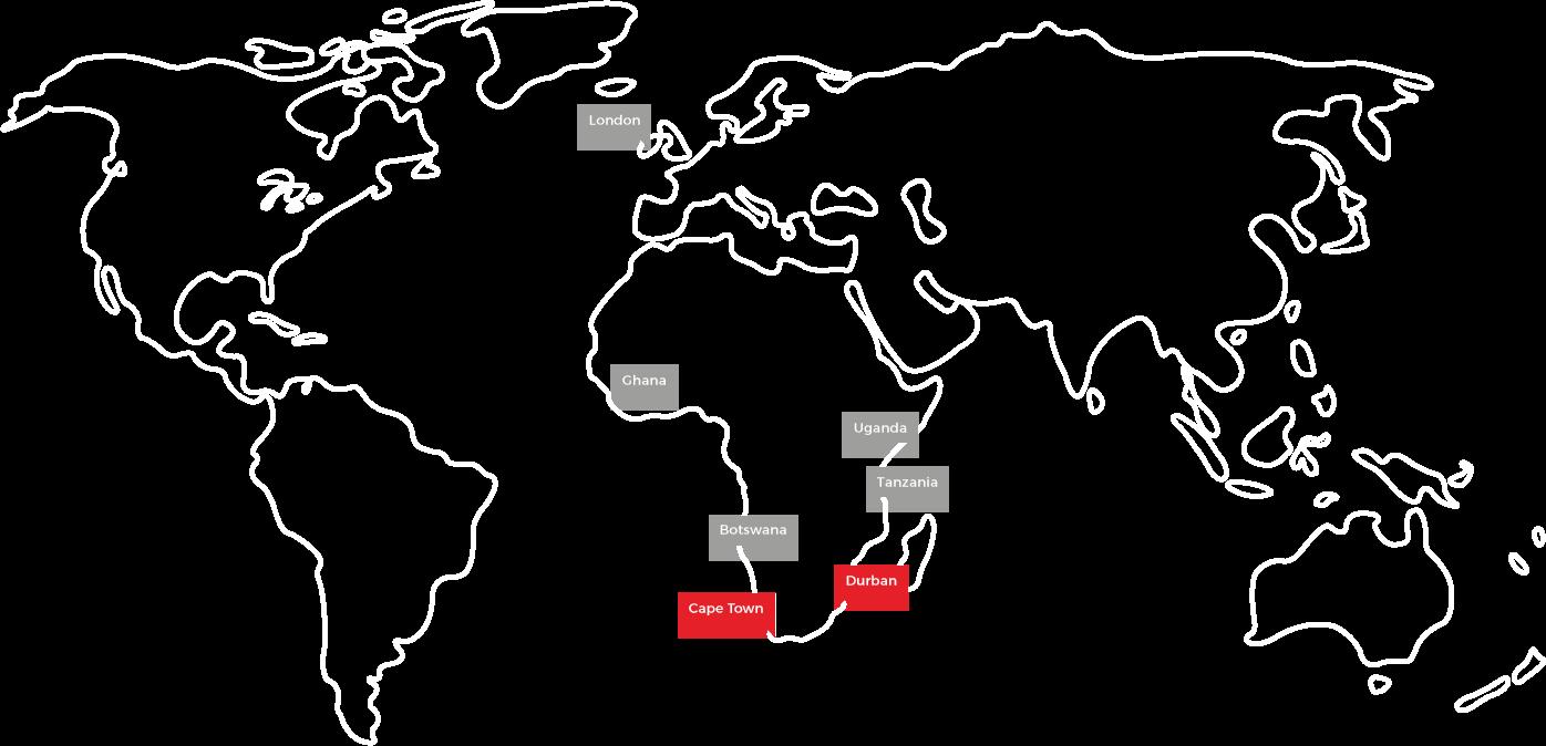 LCIBS Africa map
