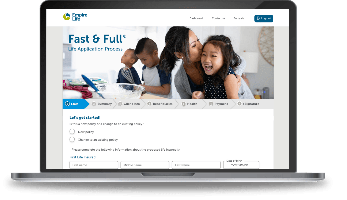 Fast and Full is usable on Desktop on Tablets