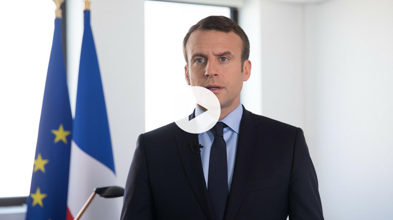 Emmanuel Macron s'exprime sur l'Europe
