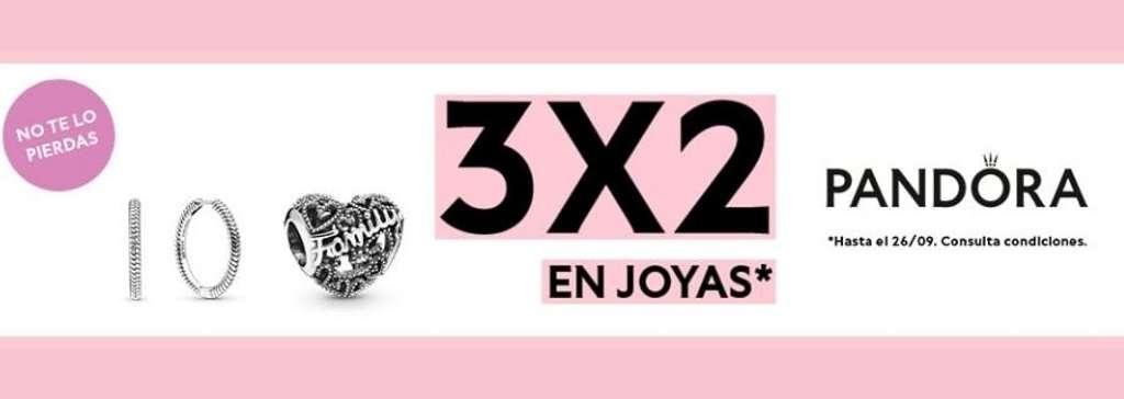 ¡Promo 3x2 en Pandora!