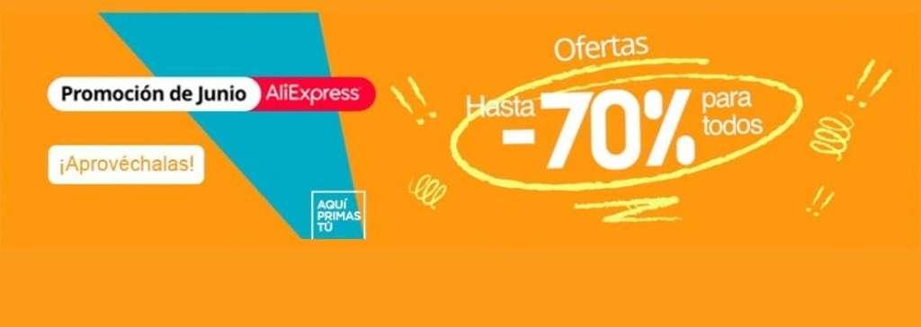¡Promoción Junio AliExpress!