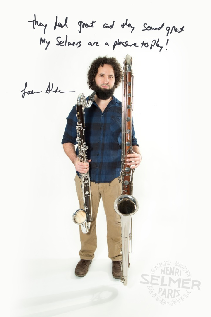 Book Jason Alder, Bass Clarinettist in London - Encore Musicians