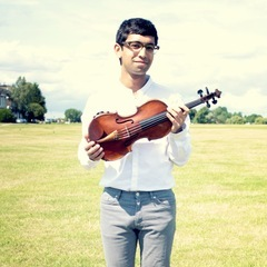 Aditya Chander Violinist in the UK