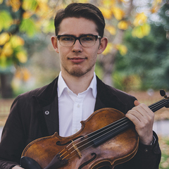 Campbell Parker Viola Player in Glasgow