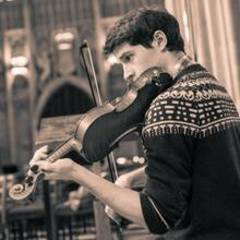 Angus Bain Violinist in Cambridge