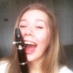 Holly Eade Clarinettist in Ely