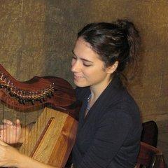 Avital Rom Harpist in Cambridge