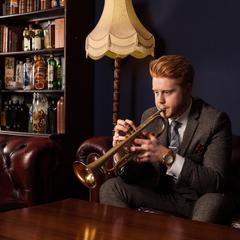 James Mayhew Trumpeter in London