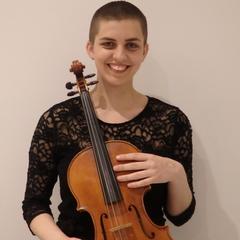 Kirsty Clark Viola Player in Oxford