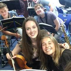 Rachel Maxey Viola Player in Oxford