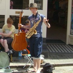 Clem Faux Saxophone Player in Oxford