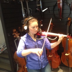 Mercedes Cooling Violinist in Birmingham
