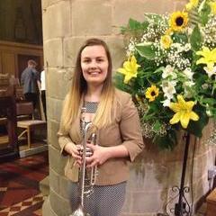 Charlotte Ellis Trumpeter in Cardiff
