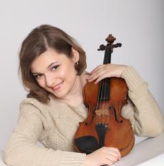 Gabriela Secula Violinist in London