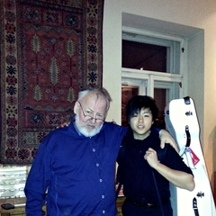 Waynne Woo Seok Kwon Cellist in Liverpool
