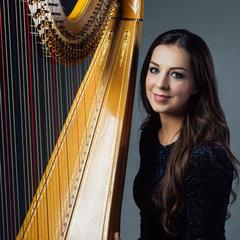 Isabel Harries Harpist in London