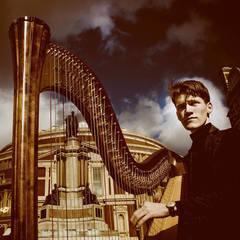 Jan Gorjanc Harpist in London