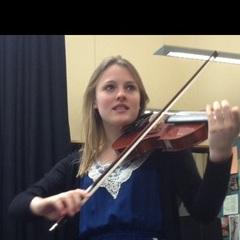 Rebecca Stephenson Viola Player in Liverpool