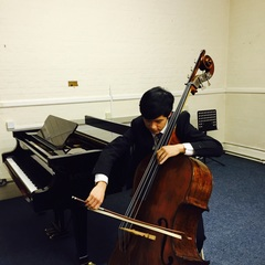 Kai Kim Double Bass Player in London