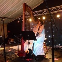 Lia Breingan Harpist in the UK