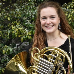 Flora Bain French Horn Player in London