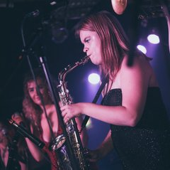 Sophia Alexandra Hall Saxophone Player in Oxford