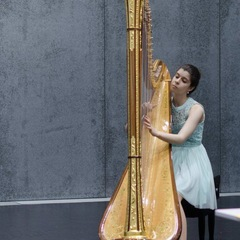 Ines Cavalheiro Harpist in the UK