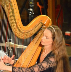 Sally Pryce Harpist in the UK