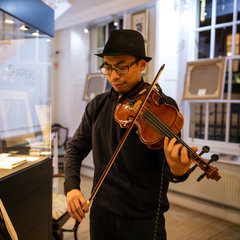 Andy Tsao Violinist in the UK